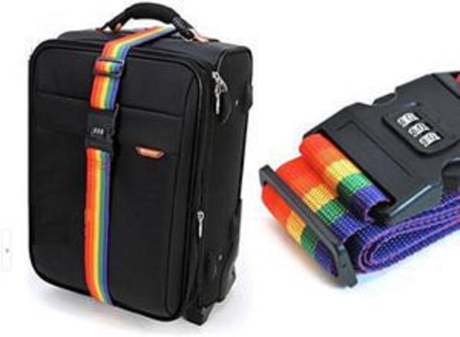 8298d153eb86 Luggage Suitcase Strap Luggage suitcase Secure Lock Safe Belt